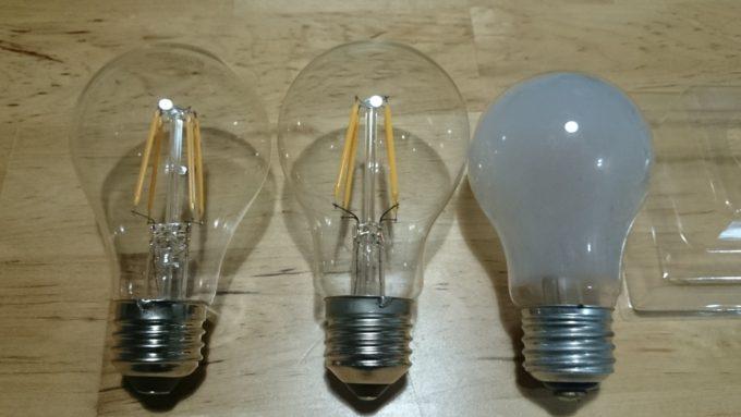 電球の比較