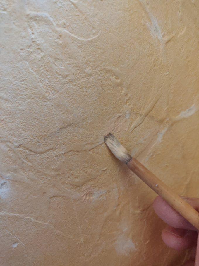 塗装中の画像